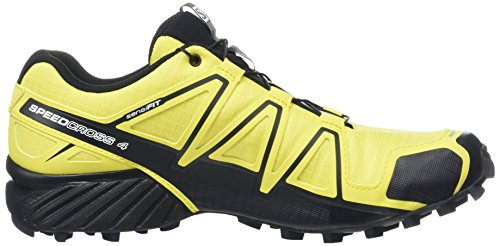 Salomon Herren Speedcross 4 Traillaufschuhe Gelb (corona Giallo / Corona Giallo / Nero)