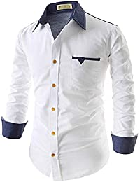 S.Meera Collection Full Sleeve Slim Fit Plain Formal Shirt for Men,100% Cotton Shirts,Office wear,Formal Shirt