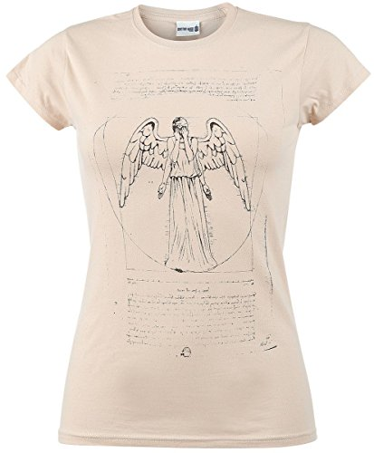 Doctor Who Weeping Angel Maglia donna sabbia S