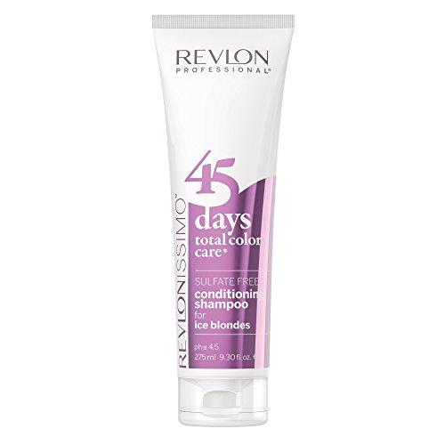 REVLON PROFESSIONAL 45 Days Ice Blondes Conditioning Shampoo, 275 ml