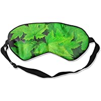 Green Leaves 99% Eyeshade Blinders Sleeping Eye Patch Eye Mask Blindfold For Travel Insomnia Meditation preisvergleich bei billige-tabletten.eu