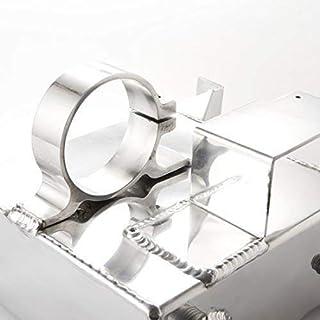 Arlows 2 Liter Aluminium Benzin Catchtank inkl. Halter für 60mm Benzinpumpen