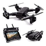 HUAXING Drone con Fotocamera per Adulti, FPV RC Quadcopter con WiFi Live Video altitudine Hover...
