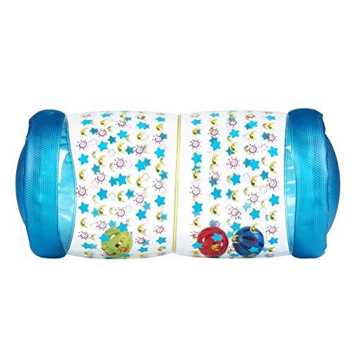 *Daxoon Krabbelrolle Aufblasbares Baby Rollen Spielzeug für Mädchen und Jungen*