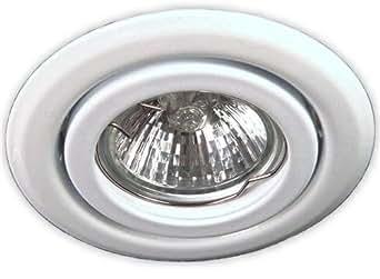 c light 230 v gu10 einbaustrahler deckenspot ssd004 weiss f r halogen oder led leuchtmittel. Black Bedroom Furniture Sets. Home Design Ideas