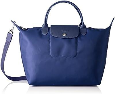 Longchamp - Bolso de tela para mujer