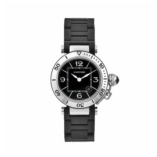 Cartier W3140003 - Orologio da polso donna, ceramica