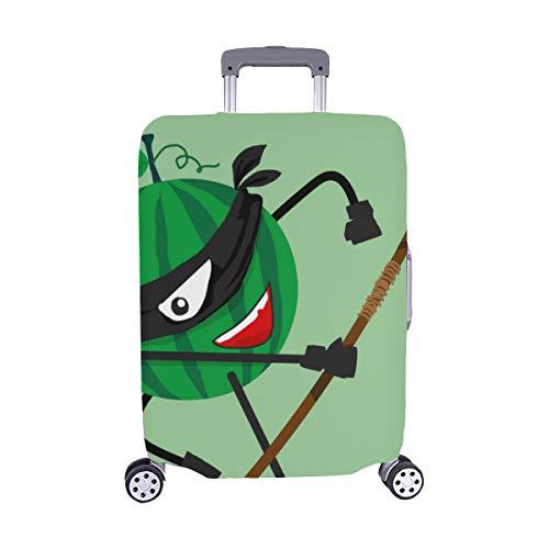 (Nur abdecken) Scheiben von rotem Mädchen Herz Wassermelone Muster Staubschutz Trolley Protector case Reisegepäck Beschützer Koffer Cover 28,5 X 20,5 Zoll (Mädchen Ninja Kostüm Muster)
