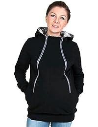 CHENGYANG Ropa de maternidad Sudaderas con capucha Otoño Invierno para Carrier Babywearing Mujer