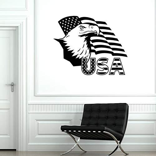 zqyjhkou Aufkleber Usa Flag Eagle USA stolz garantierte Qualität Dekor A4-046 42X34CM -