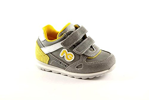 NERO GIARDINI JUNIOR chicots 23482 bébés chaussures grises de sneakers