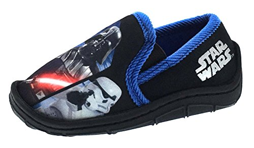 Disney Boys Kids Star Wars Yoda Slippers Shoes Size UK KIDS 10