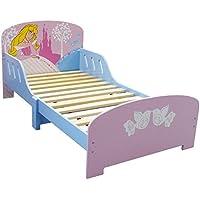 Fun House 712240 Fun House Disney cama, diseño de niña con listones de madera tablero DM, 77 x 59 x 144 cm