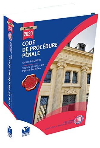 Code de Procédure Pénale 2020