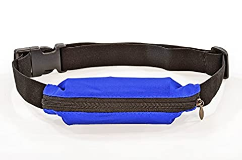 Flexifoil Water Resistant Running Belt. Weather Proof Waist Pack For Men and Women. Keeps Keys, Cards & All Mobile Phones Secure During Workouts & Exercise. Fully Adjustable & Comfortable. Perfect Gifts For