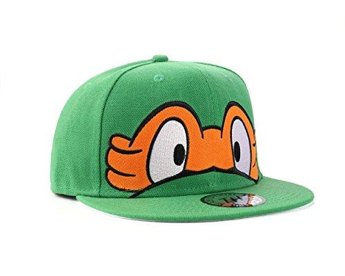 Underground Kulture Tortues Ninja Casquette de Baseball Réglable (Turtles - Orange)