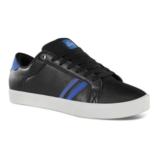 Emerica THE LEO 6102000065, Chaussures de skateboard homme Black/Black/Royal