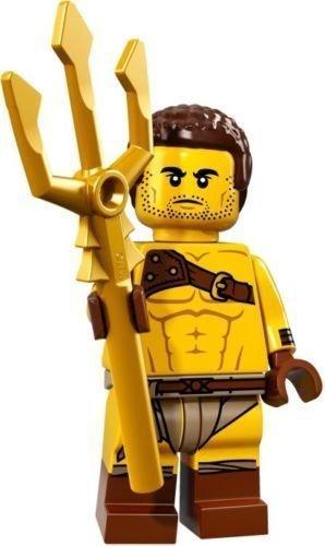 Lego Minifiguren Serie 17 - #8 Gladiator - 71018 (Bagged) (Minifiguren Lego Serie 8)