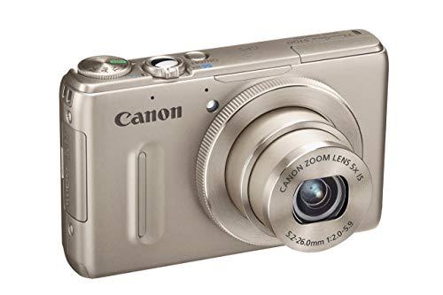 Canon Powershot S100 Digitalkamera (12 MP, 5-fach opt. Zoom, 7,7cm (3 Zoll) Display, Full-HD Video, GPS, bildstabilisiert) silber (Generalüberholt) (Canon S100)