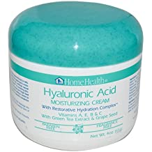 Hyaluronic Acid Moisturizing Cream, 4 oz (Multi-Pack) by Home Health