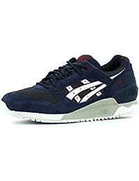 Asics Gel Respector, Sneakers bajas unisex, azul marino, 39.5