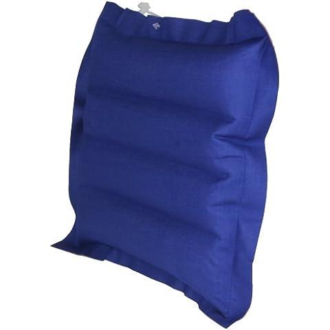 10T Outdoor Equipment 1020760834 Ruby Box - Almohada hinchable (900 cm²), color rojo y azul