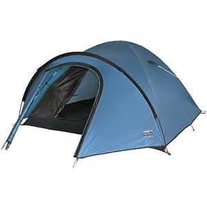 High Peak Nevada 4 - 10086 - Tente dôme igloo de camping - 4 personnes - bleu/marron