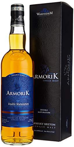 Armorik Double Maturation Single Malt de Bretagne mit Geschenkverpackung Whisky (1 x 0.7 l)