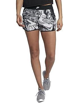 Nike Felpa con cappuccio Webs Shorts con Print