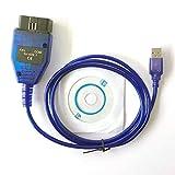 hr-tool® KKL 409.1 Diagnostic USB Kabel OBD2 OBD-II Scanner Mediasave 409.1
