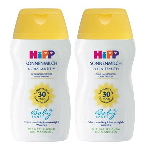 HiPP Babysanft Sonnenmilch, 2er Pack (2 x 50ml)