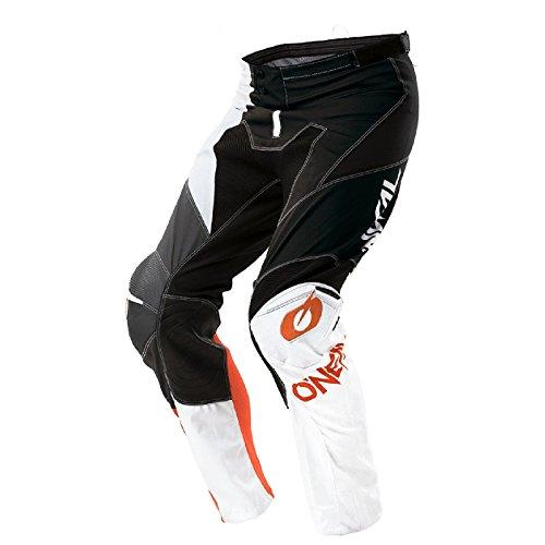 O'Neal Mayhem Lite Split MX Motocross Hose Pant Enduro Offroad Motorrad Quad Cross Ledereinsatz, 0130A, Farbe Orange, Größe 36 (Hose Mayhem Orange)