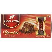 Côte dOr Bouchée Leche 200 g, paquete de 12 ...