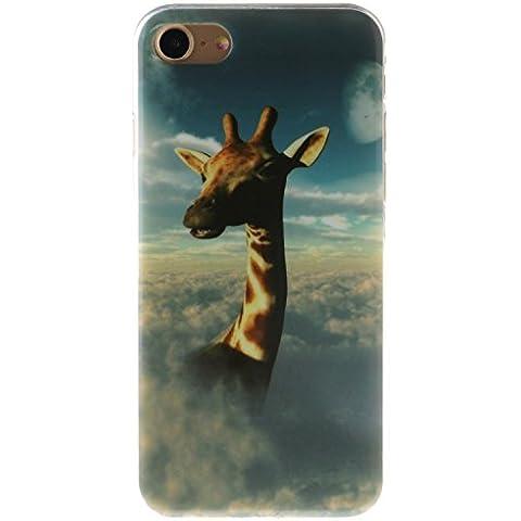 Meet de Caso / copertura / Telefono / sacchetto Per Apple iphone 7 PU Pelle (Giraffe Corda)