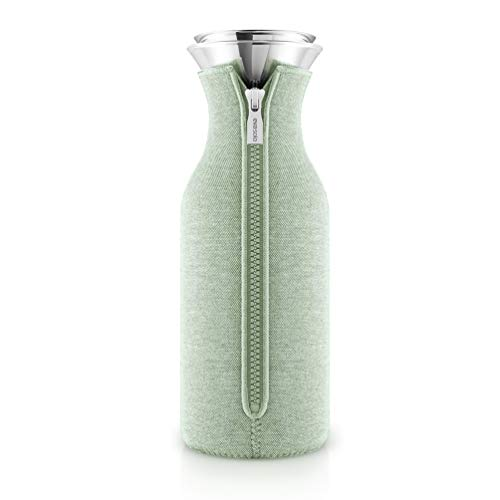 Eva Solo Kühlschrankkaraffe mit Anzug Woven Eucalyptus green/hellgrün 1,0 Liter