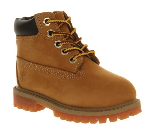 Timberland 6 Inch Classic Boots Infant Wheat Nubuck - 9 infant UK