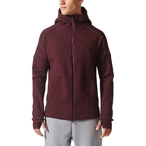 Adidas ZNE Hoody 2, Sweatshirt Mehrfarbig (borosc)