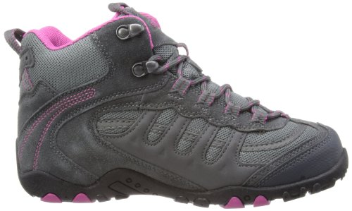 Hi-Tec Penrith Mid Wp W Damen Trekking- & Wanderstiefel Charcoal/Cyclamen