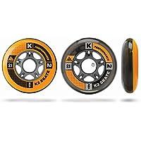K2 Inline Skate Rollen Hi-Lo 4 Pack ILQ 7, Pieza para patines en línea, 84 mm, 4 unidades