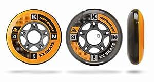 K2 Inline Rollenset mit Kugellagern Wheel 8-Pack/ILQ 5, 72mm, 3053008.1.1