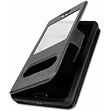 Etui Housse Coque Folio noir pour Lazer SMARTPHONE JOSS by Ph26