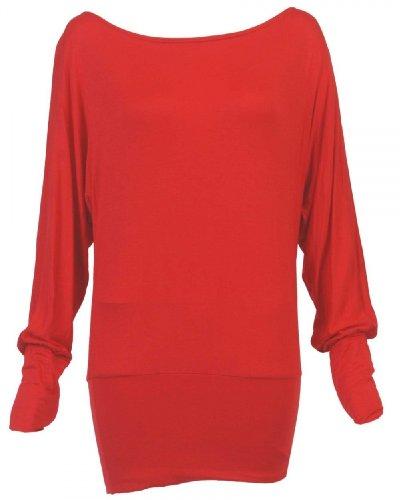 XClusive plusDamen robe Rouge - Rot - Rot