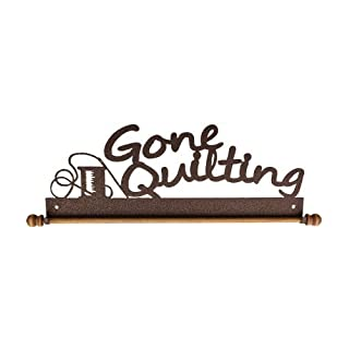 Ackfeld 22 Gone Quilting Metal Wall Craft Quilt Textile Holder Hanger by Ackfeld Manufacturing