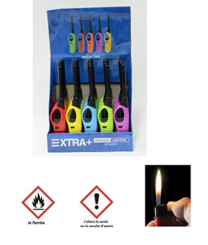 lot-de-5-allume-gaz-electronique-21cm-briquet-barbecue-gaziniere-265
