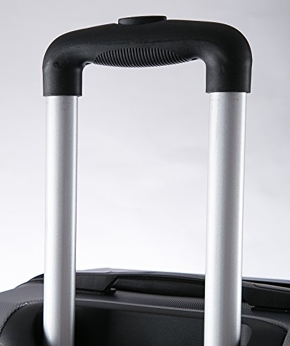 WOLTU RK4205ch Reise Koffer Trolley Hartschale mit erweiterbare Volumen , Reisekoffer Hartschalenkoffer 4 Rollen , M / L / XL / Set , leicht und günstig , Champagne (M, 56 cm & 42 Liter) - 7