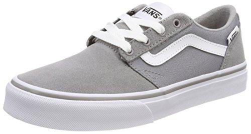 hapman Stripe Sneaker, Grau (Suede/Canvas), 38 EU (Kinder Vans Schuhe)