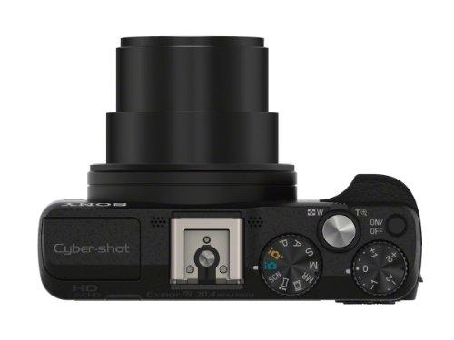 Bild 13: Sony DSC-HX60 Digitalkamera (20,4 Megapixel, 30-fach opt. Zoom, 7,5 cm (3 Zoll) LCD-Display, Exmor R CMOS Sensor, NFC/WiFi) schwarz