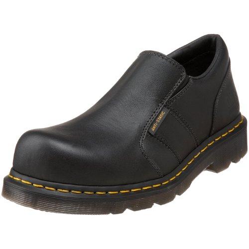 Dr. Martens Mens Resistor St ESD Steel Toe Shoe Black