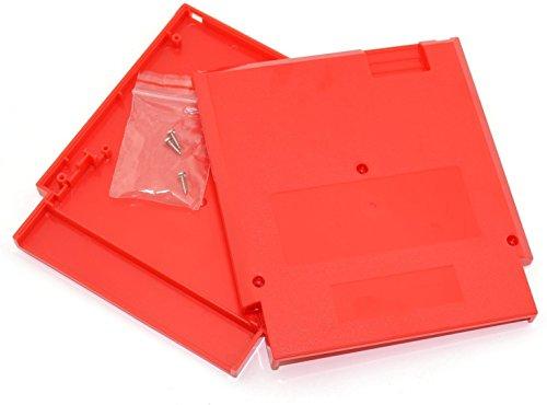 Ambertown Rot Game Kartusche Shell Fall 72Pins 8Bit Karte für Nintendo NES mit 3Schrauben Ersatz