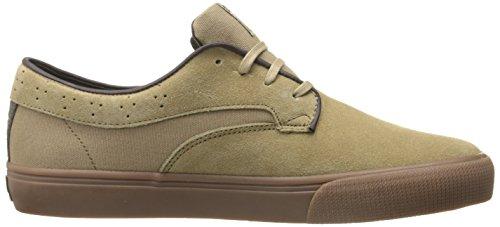 Lakai Riley Hawk Shoes Walnut Suede